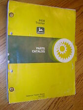 John Deere 8430 Parts Catalog Manual Book Agricultural 4X4 Ag Tractor Jd Pc1485