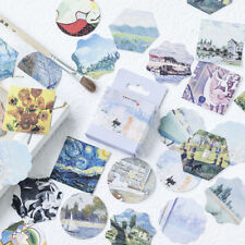 46pcs/lot DIY An Art Gallery Decorative Adhesive Stickers Papeleria Scrapbooking