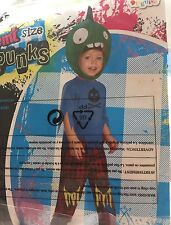NWT Baby Toddler Zombie Punk Halloween Costume 2T