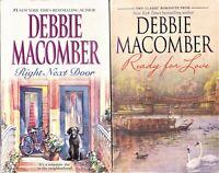 Lot of 2 Debbie Macomber * 4 Novels in 2 Books * Paperback