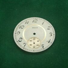 Elgin 12s  Pocket Watch Face  Original Parts Watchmaking Tools E6