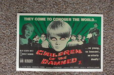 Children of the Damned #1 Lobby Card Movie Poster
