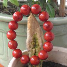 Vintage Tibetan Red Natural Sponge Coral Beaded Bracelet