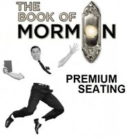 THE BOOK OF MORMON ON BROADWAY PREMIUM ORCHESTRA SEATING