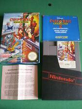 Nintendo NES CHIP'N'DALE Rescue Rangers 2 complet PAL B FRA