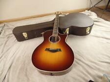 Taylor 814ce Grand Auditorium Acoustic/Electric Guitar Sunburst