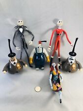 NIGHTMARE BEFORE CHRISTMAS JACK SALLY AND MORE ACTION FIGURE LOT 1993