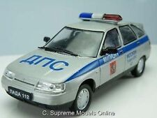 LADA 112 MOSCOW POLICE TRAFFIC CAR 2112 BA3 1/43RD SIZE MODEL VERSION R0154X{:}