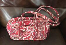 Vera Bradley Small Double-Strap Shoulder Bag in Rosy Posies - SO Pretty!