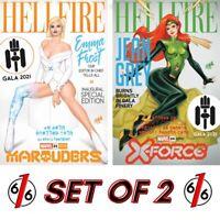 🚨🔥 MARAUDERS #21 X-FORCE #20 NAKAYAMA Variant Set Jean Grey Emma Frost NM