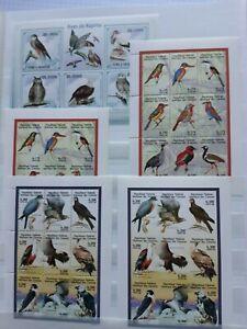Lot Briefmarken Vögel