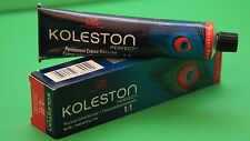 WELLA KOLESTON HAIR DYE 77/43 INTENSIVE MEDIUM BLONDE / RED GOLD   2.0 OZ