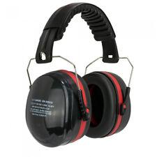 Kapselgehörschutz Gehörschutz Arbeitsschutz Kapsel Schwarz Rot SNR 32dB
