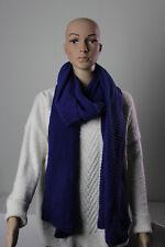"""NEW Women's Merona Indigo 78"""" x 20"""" Knit Cold Weather Scarf BOGO"""