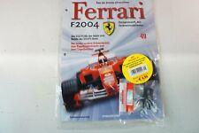 Kyosho DeAgostini Kit Ferrari F2004 / F1-04049 mit Heft OVP Ausgabe Nr.49