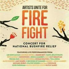 Artists Unite For Fire Fight National Bushfire Relief Various 2 CD NEW