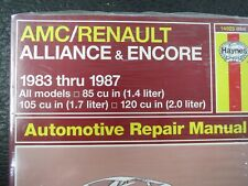 Haynes Auto Repair Manual for 1984-1987 Renault Alliance 14025 - Ships Fast!