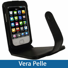 Cover e custodie in pelle nera per lettori MP3 Samsung