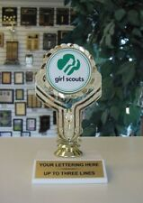 NEW!!  ECONOMY GIRL SCOUT TROPHY AWARD CUTE!