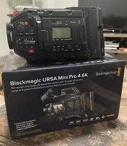 Used Ursa Mini Pro 4.6K With SSD Caddy & Handgrip + 500GB 850 EVO SSD
