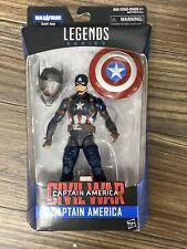 "Marvel Legends 6"" Civil War Captain America Figure (Giant Man BAF) NEW in Box"