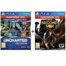 Pack 2 Jeux PS4 PlayStation Hits : Infamous Second Son + Uncharted Nathan Drake