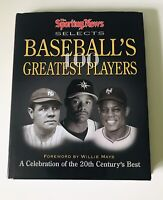 The Sporting News Selects Baseball's 100 Greatest Players  by Ron Smith