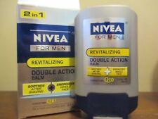 NIVEA For Men Revitalizing Double Action 2 in 1  Shave Balm Q10 3.3 fl. oz