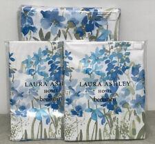 Laura Ashley Wildlower Bluebell SUPER KING Duvet Cover + 2 Pillowcases - NEW