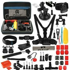 Puluz Contour Roam 3 2 Action Cam 53 In 1 Mount Kit Accessories + Eva Carry Case
