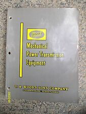 Vintage T.B Wood's Son's Chambersurg PA Mechanical Transmission Equipment Book