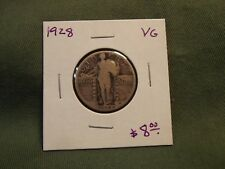 1928 VG Standing Liberty Quarter dollar, very nice coin at a good price