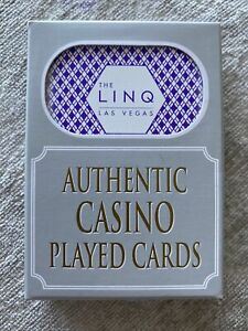 THE LINQ LAS VEGAS CASINO DECK OF CARDS - BRAND NEW - WON AT BLACKJACK TABLE