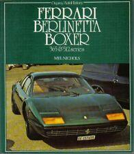 Ferrari Berlinetta Boxer 365 & 512 Serie producción & Racing Osprey autohistory