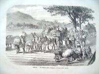 1866 RISORGIMENTO FUGA DALLA GUERRA RITIRO A VIENNA