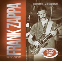 FRANK ZAPPA - RADIO SHOW  2 CD NEU