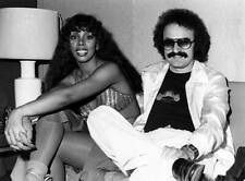 Giorgio Moroder And Donna Summer 1970s OLD MUSIC PHOTO