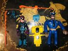 Hightower and Claw with AccessorIes Police Academy Lot Kenner Action Figure