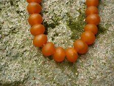 Recycled Glass Beads Ghana Krobo Perlen Altglas 100 Stück 13 mm bunter Mix