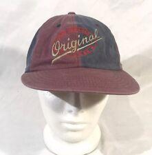 Vintage Levi Strauss   Original Gorra Sombrero Azul y CO Granate Cap década  de 1990 635d0c643b1