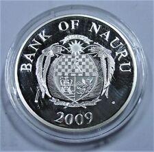 NAURU 2009 10 Dollars Silber FIFA WORLDCUP in Südafrika PP/PROOF mit Kapsel