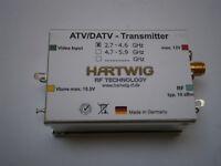 Kleinsender für ATV,DATV,SSB,CW,FM,Video,Basisband,QPSK