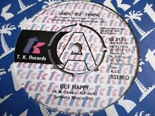 JIMMY BO HORNE GET HAPPY c/w ITS YOUR SWEET LOVE 1976 TK RECORDS  DEMO ISSUE