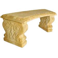 """Curved Pompeii Garden Bench 42"""""""