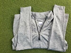 Callaway Golf + M/M + L/S + Gray + POLY + 1/4 Zipper Pullover + gw00639