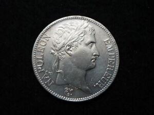 Superbe 5 Francs Napoléon Empereur 1809 A SUP/FDC.