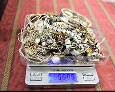 558 Grams Sterling Silver .925 - Scrap and Wearable Lot I