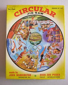 Waddington's Circular jigsaw  over 500 pieces