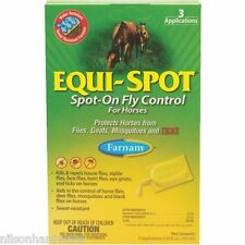 Equi-Spot Spot-On Fly Repellent For Horses (3) 10 Ml Tubes/Pk 100506084