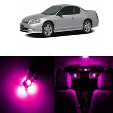 9 x Pink LED Interior Light For 2000 - 2007 Chevy Chevrolet Monte Carlo + TOOL